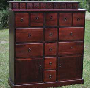 Wooden furniture indoor furniture Chest of drawers