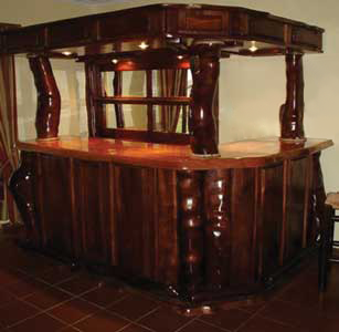 Wooden Furniture - bar